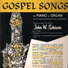 Hymns and Gospel Songs for Piano or Organ Sheet music – 1960 by John W. Schaum