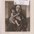 Vintage Perry Pictures - Madonna and Child