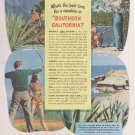 Southern California Tourism Vacation Travel Ad