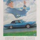 1966 Ford Thunderbird Advertisement, Vintage Ad