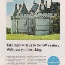 Pan Am Airways Take Flight With Us to the 16th Century Vintage Ad