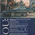 1981 CHEVROLET MONTE CARLO IN CHINA TOWN PHOTO AD