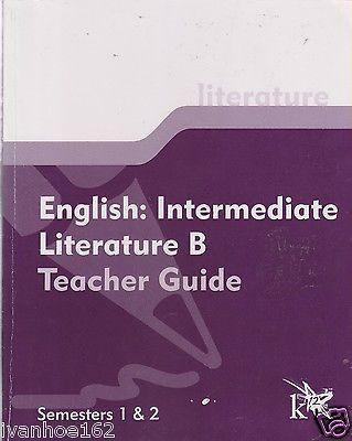 English: Intermediate Language Skills B Teacher Guide Semesters 1 & 2 by K12