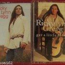 RICKY LYNN GREGG Self Titled & Get a Little Closer by Ricky Lynn Gregg