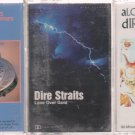 DIRE STRAITS CASSETTE LOT (3) Brothers in ARms- ALCHEMY LIVE & LOVE OVER GOLD