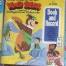PETER PAN BOOK & RECORD #1971 --YOGI BEAR AND HIS JELLYSTONE FRIENDS-45RPM