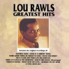 Greatest Hits by Lou Rawls (cassette)