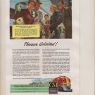 GM DIESEL POWER SANTA FE SUPER CHIEF TRAIN VINTAGE 1948 ORIGINAL MAGAZINE AD