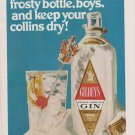 Gilbeys Dry Gin - Frosty Bottle
