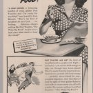 Vintage Magazine Print Ad Post Toasties Corn Flakes
