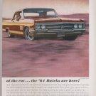 Vintage 1964 Buick Magazine Advertisement