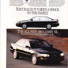 1992 Toyota Camry SE - shock - Classic Vintage Advertisement Ad