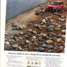1992 RANGE ROVER - Test Track Original Advertisement ad