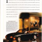 "1992 Mazda Miata Convertible photo ""Looks Good in Black"" magazine print ad"