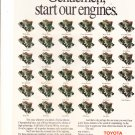 toyota gentlemen  start your engines magazine advertisement