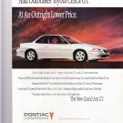 1992 Pontiac Grand Am GT Outpowers Nissan 240SX Outbrakes Toyota Celica GT Print Ad