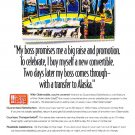 """my boss promises"" oldsmobile magazine advertisement"