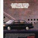 Acura Legend Original Magazine Advertisement