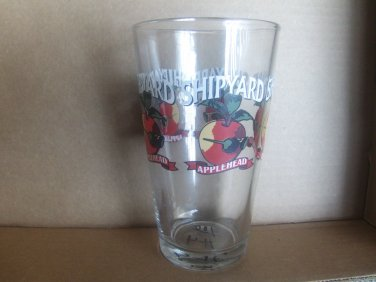 Shipyard Applehead Pint Glass