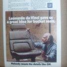Vintage General Motors Magazine Advertisement