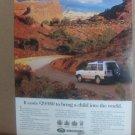 Vinatge Land Rover Magazine Advertisement