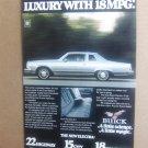 Vintage Buick Electra Magazine Advertisement