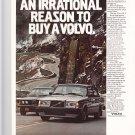 Vintage Volvo Magazine Advertisement