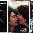 John Lennon & Yoko Ono COLLECTION (5) CASSETTES