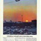 """Boeing Jets Vintage 1966 """"Fabulous Weekend"""" Print Ad"""