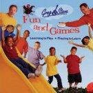 GREG & STEVE FUN WITH GAMES -CASSETTE TAPE (NEW)