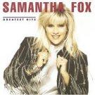 Samantha Fox Greatest Hits Cassette (1.99)