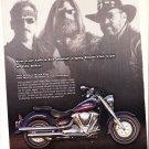 Yamaha Motorcycle Magazine Advertisement