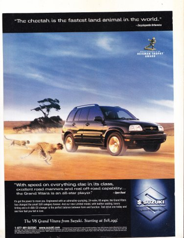 Suzuki Magazine Advertisement