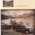 Chevy Suburban Magazine Advertisement Like a Rock