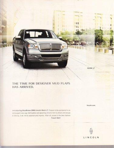 Lincoln Mark LT Magazine Advertisement