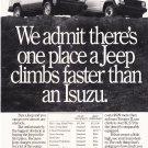 Isuzu Magazine Advertisement Climbs Faster
