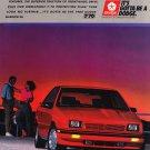 Dodge Shadow ES Magazine Advertisement