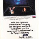 Ford Quality Job 1 - Dependability