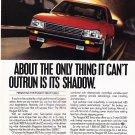 Peugeot 505 Magazine Advertisement