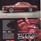 Dodge Mirada Vintage Magazine Advertisement
