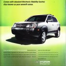 Hyundai Tucson Magazine Advertisement