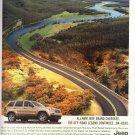 Jeep Grand Cherokee Magazine Advertisement Quadra Drive II