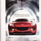 Mazda RX8 Magazine Advertisement