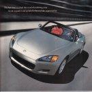 Honda S2000 Magazine Advertisement