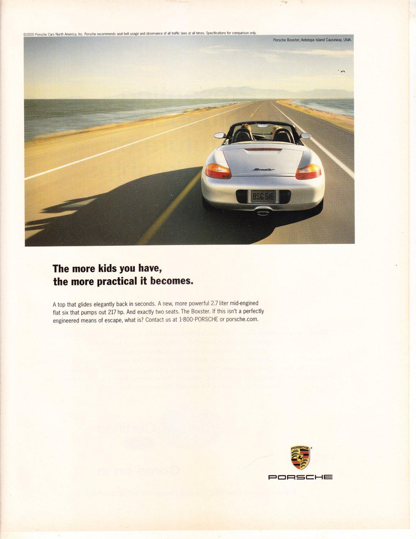 Porsche Magazine Advertisement