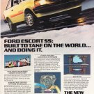 Vintage Ford Escort SS Magazine Advertisement