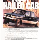 Isuzu Spacecab Magazine Advertisement