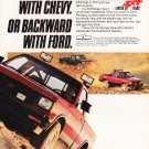 Go Forward with Chevy Vintage Magazine Advertisement
