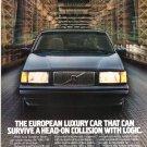 Volvo 740 Vintage Magazine Advertisement