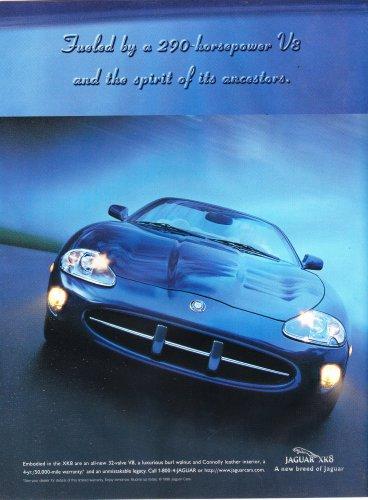 Jaguar Magazine Advertisement